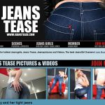 Jeans Tease Live Cams