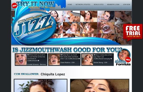 Jizz Mouth Wash Bank