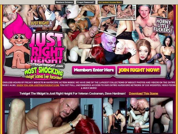 Justrightheight Full Website
