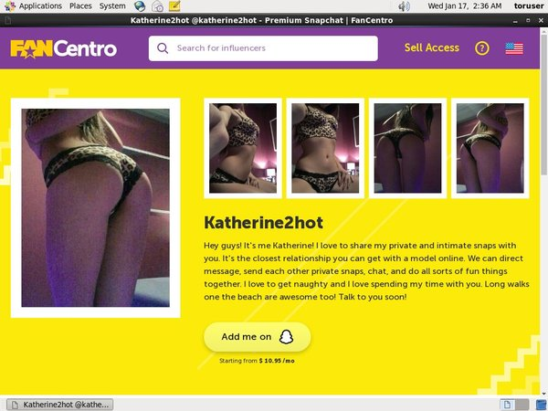 Katherine2hot Cheap Deal
