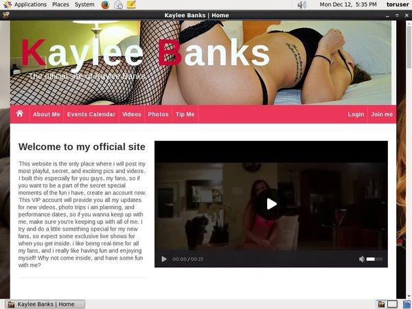 Kaylee Banks Free Trial Pw
