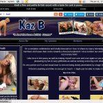 Kaz B New Porn