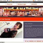 Kim's Amateurs Trial Sign Up