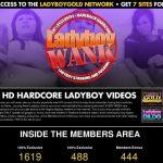 Ladyboy Wank GXBill