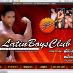 Latin Boys Club With Paypal Acc