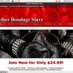 Leather Bondage Slave Promo