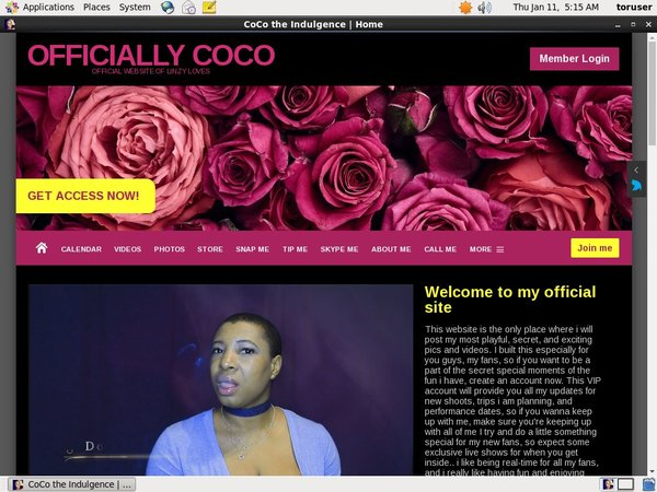 Limited CoCo The Indulgence Discount Deal