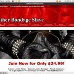Limited Leatherbondageslave Deal