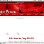Limited Leatherdomina.com Promo