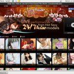 Liveasianwebcams.com Login Info