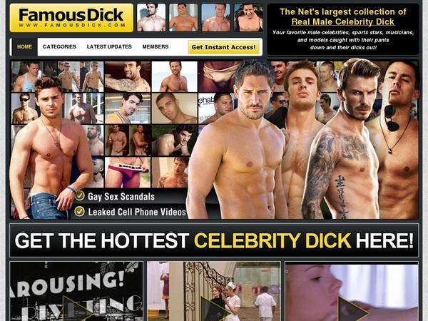 Login Famous Dick Free