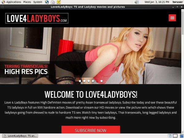 Love4ladyboys Logins