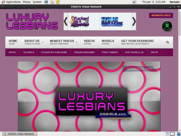 Luxury Lesbians アカウント