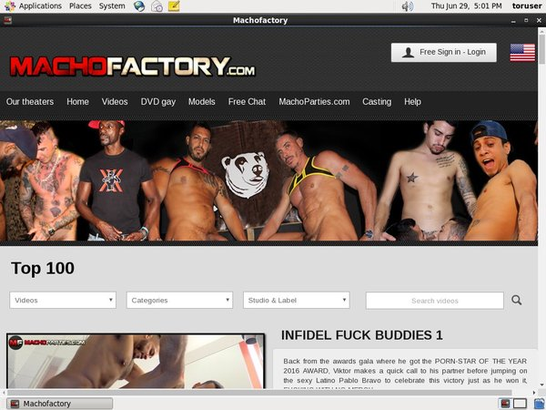 Machofactory.com Free Scene