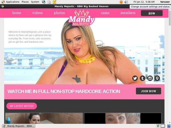 Mandymajestic.com Free Trial Acc