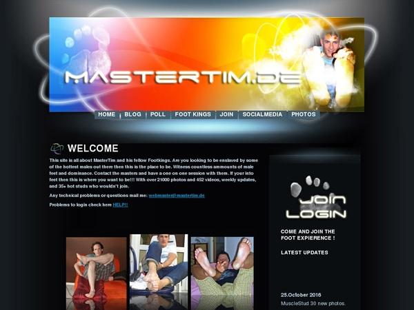 Master Tim Members Password