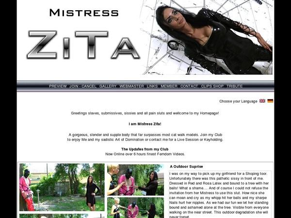 Mistress-zita.com Discount Monthly