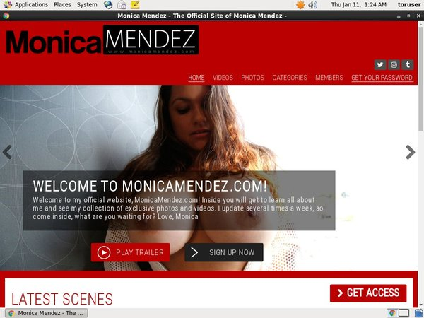 Monica Mendez With No Card