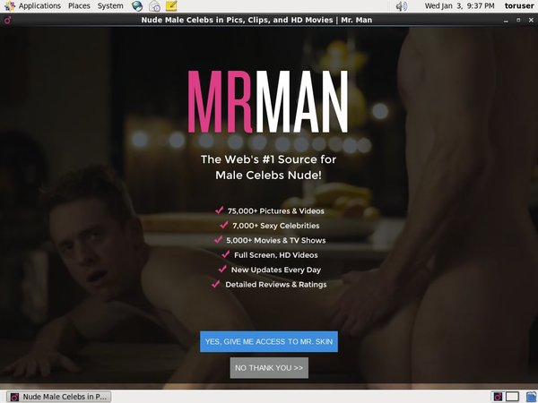 Mrman.com Password Login