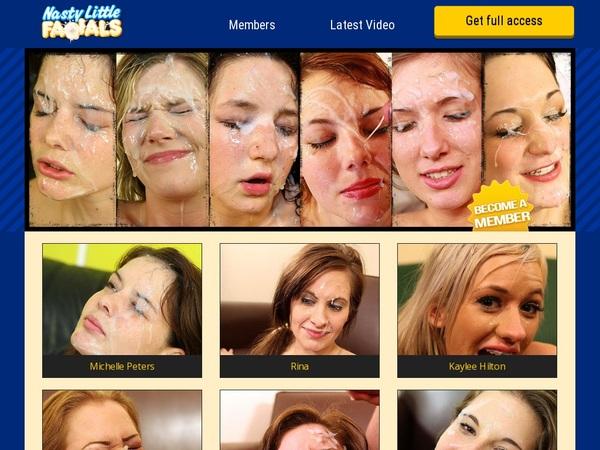 Nasty Little Facials Bonus