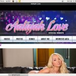 New Aaliyah Love Discount