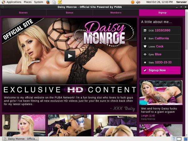 New Daisy Monroe Site Rip
