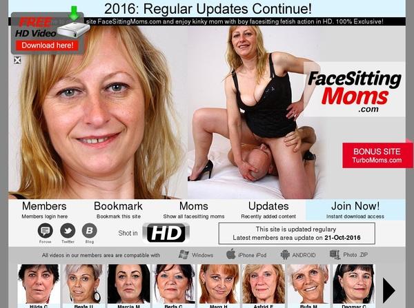New Facesittingmoms Discount Deal