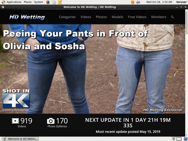 New Hdwetting.com Site Rip