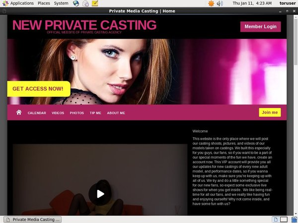 New Private Casting Trial Videos