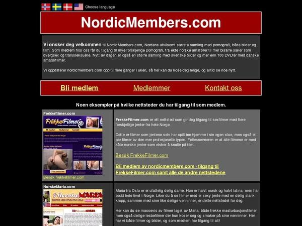 Nordic Members Accont