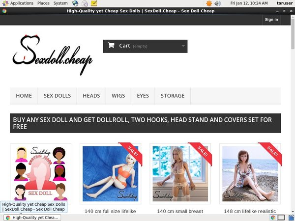 Paypal Sexdollcheap Sign Up