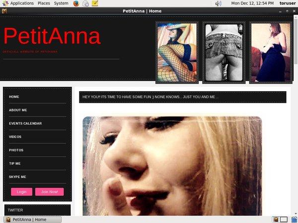Petit Anna Access Free