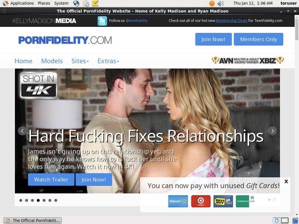 Pornfidelity.com Logins For Free