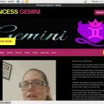 PrincessGemini Discount Checkout