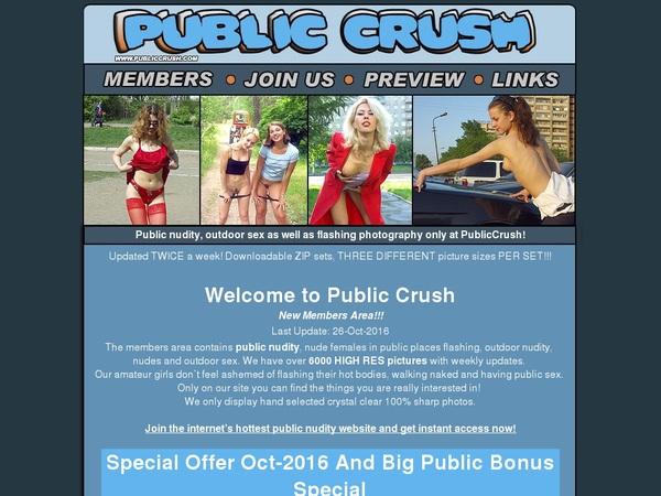 Publiccrush.com With IBAN / BIC