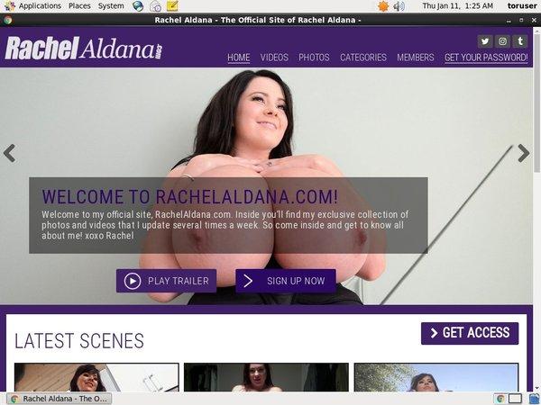 Rachel Aldana Using Paypal