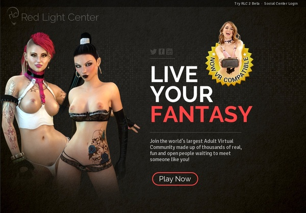 Red Light Center Free Trial Pass