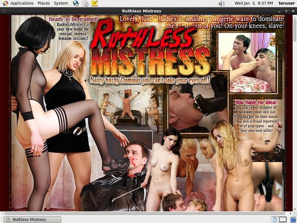 Ruthless Mistress Payment Page