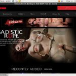 Sadistic Rope Accounts Working