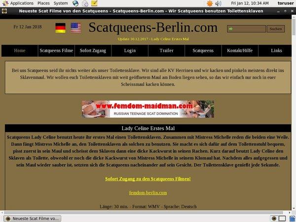 Scat Queens Berlin Login Free