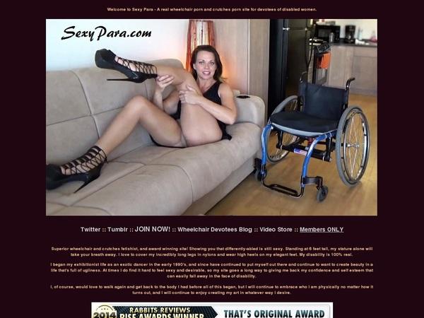 Sexypara Membership Trial