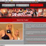 Shesboss.com Working Passwords