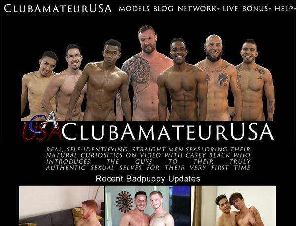 Sign Up For Clubamateurusa