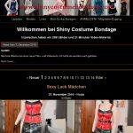 Site Rip Shiny Costume Bondage