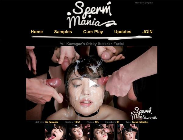 Spermmania Sign Up Again