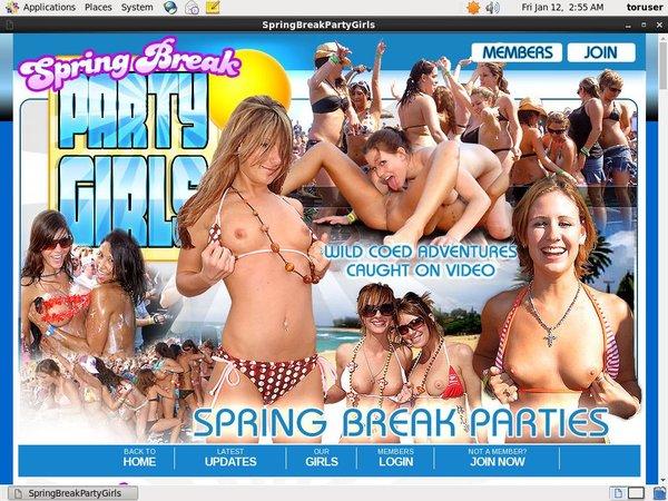 Springbreakpartygirls.com Trial Promo