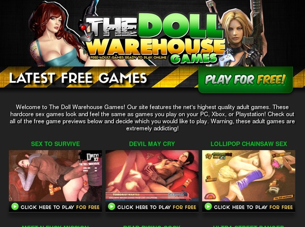 The Doll Warehouse Games Order