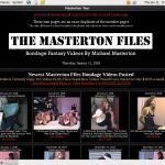 The Masterton Files Free Videos