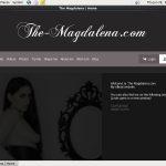 Themagdalena.modelcentro.com Tube