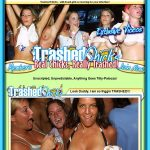 Trashedchicks.com Members Area